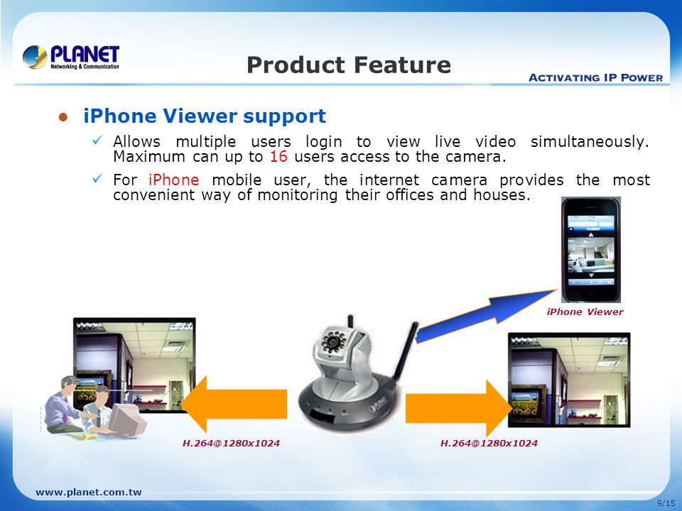 Product Feature iPhone Viewer support