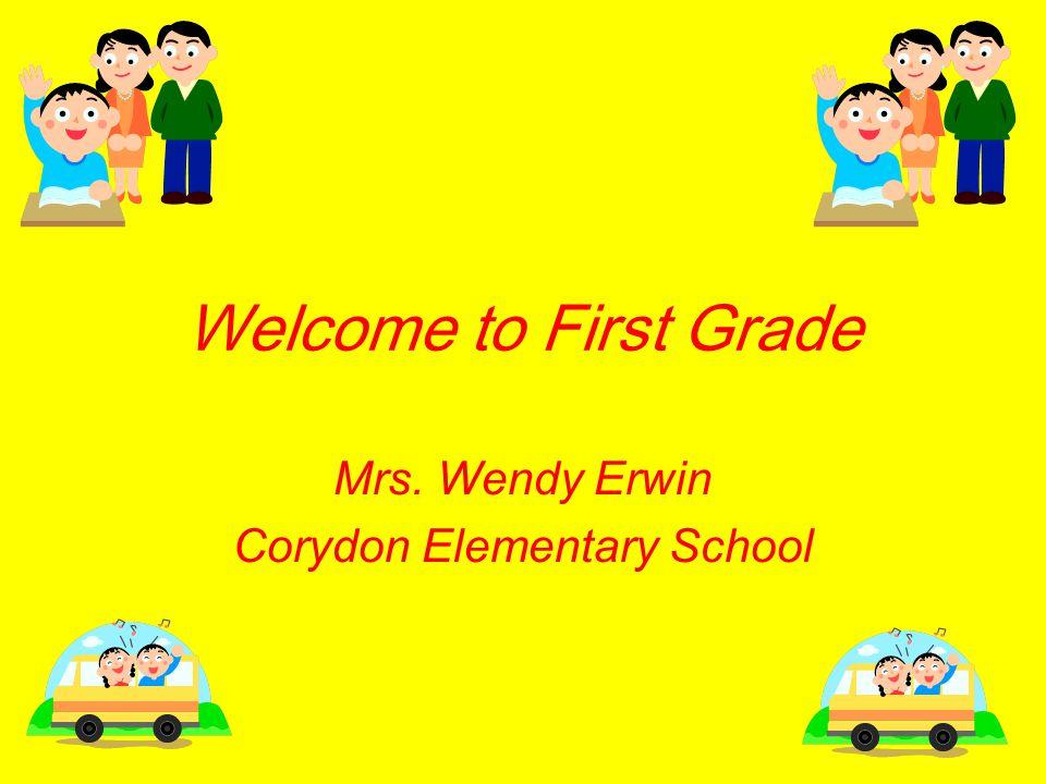 Mrs. Wendy Erwin Corydon Elementary School