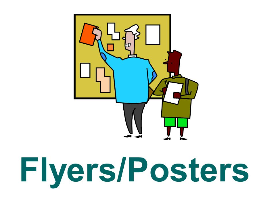 Flyers/Posters
