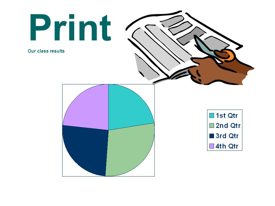 Print Our class results