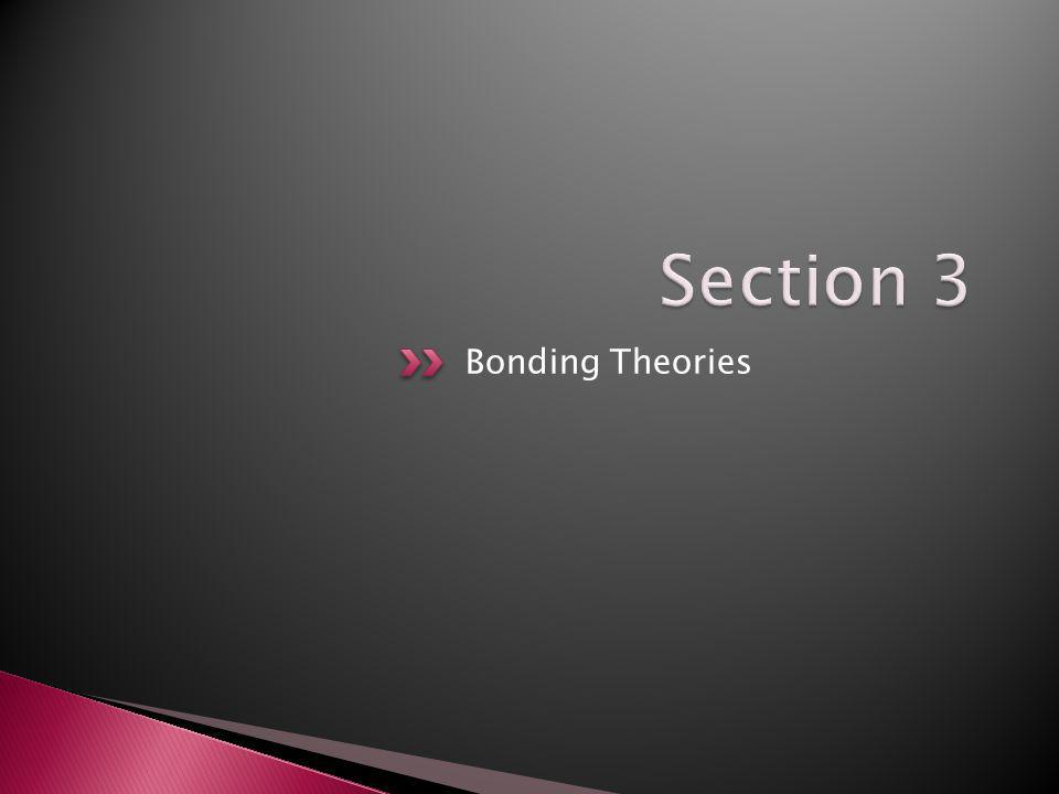 Section 3 Bonding Theories