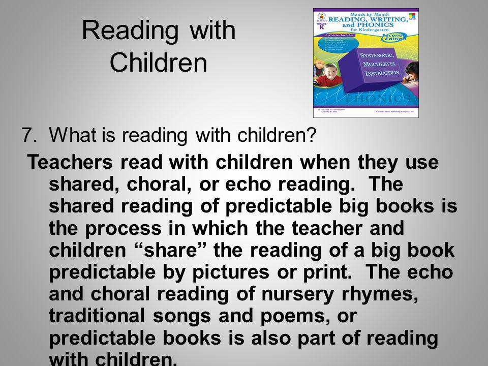 Reading with Children What is reading with children