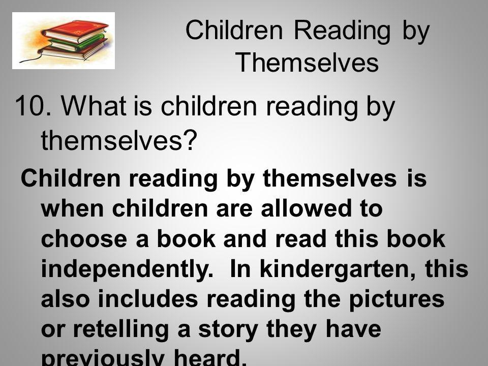 Children Reading by Themselves
