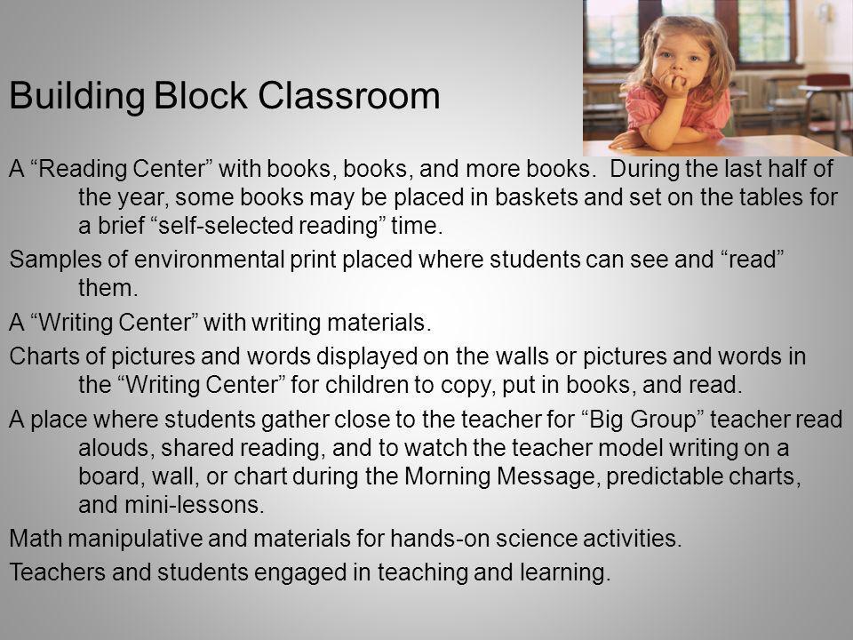 Building Block Classroom