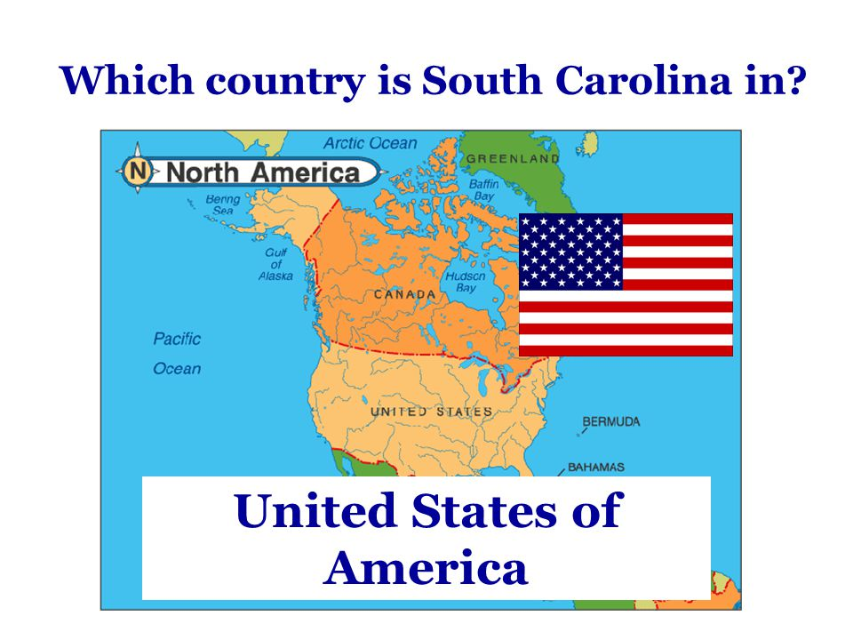 Which country is South Carolina in