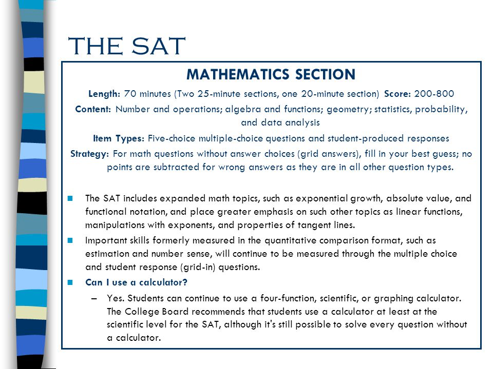 Sat math practice test pdf with answers