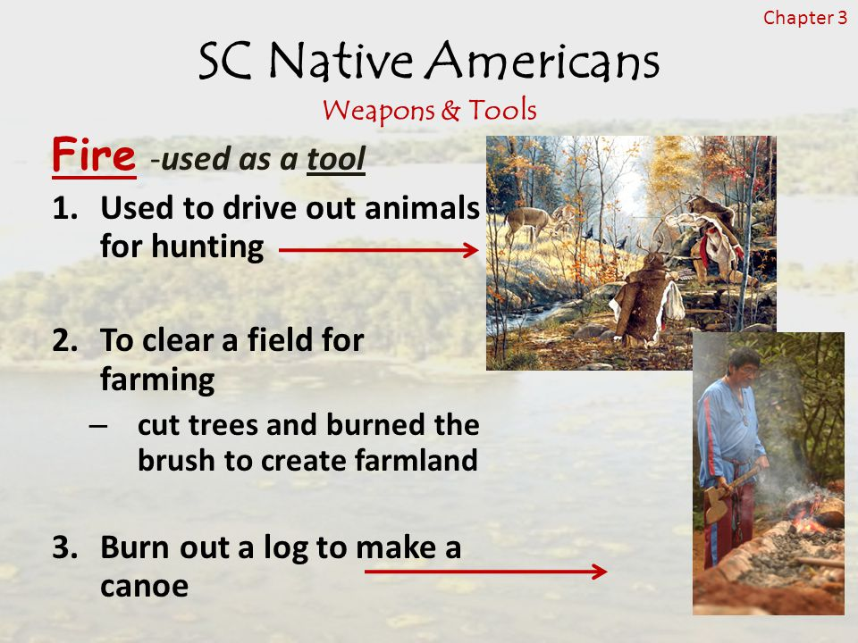 SC Native Americans Weapons & Tools