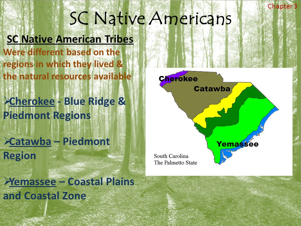 SC Native American Tribes