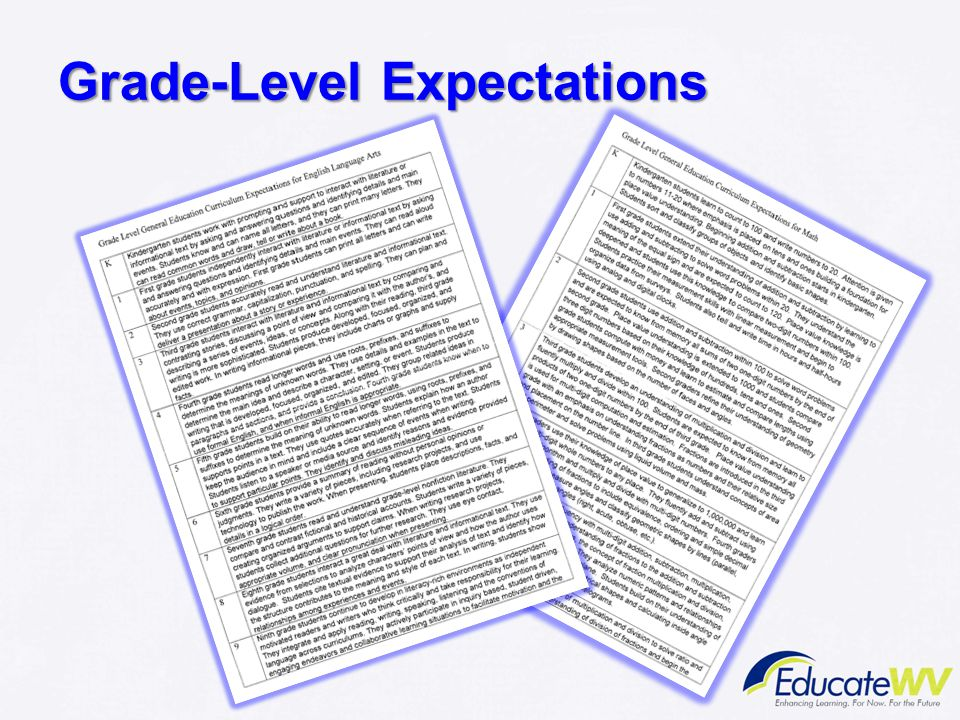 Grade-Level Expectations