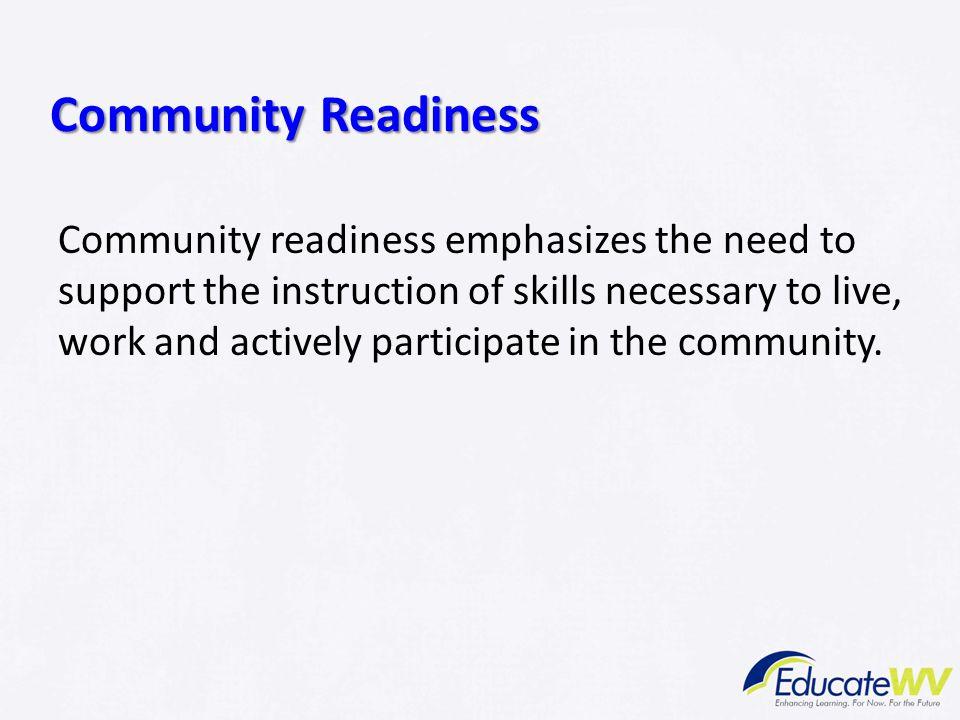 Community Readiness