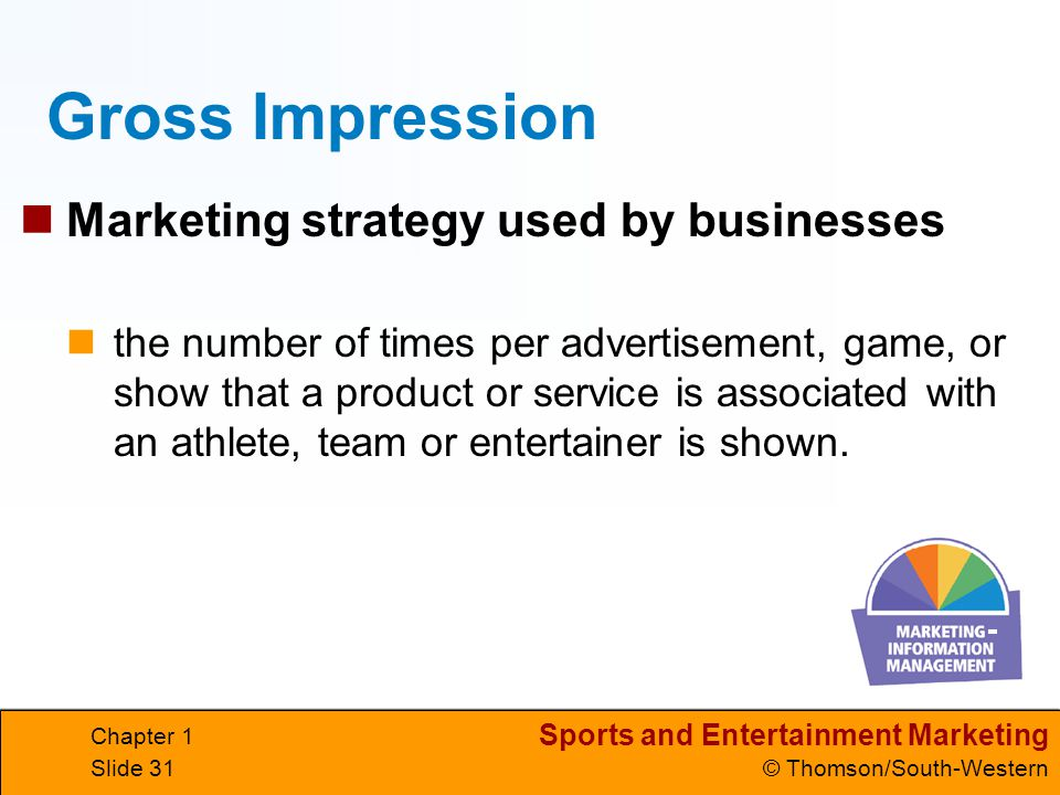 Gross Impression Marketing strategy used by businesses