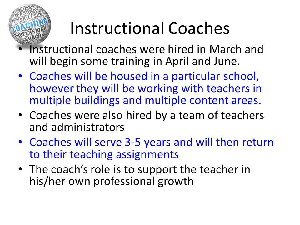 Instructional Coaches