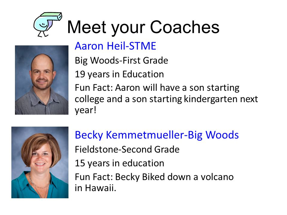 Meet your Coaches Aaron Heil-STME 19 years in Education