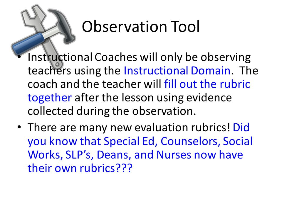 Observation Tool