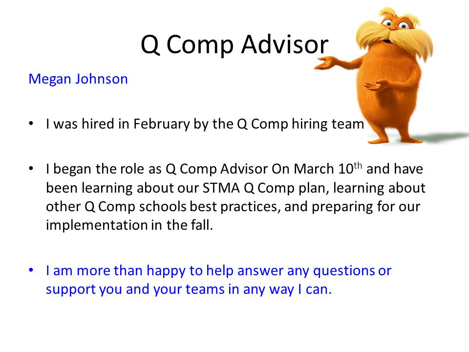 Q Comp Advisor Megan Johnson