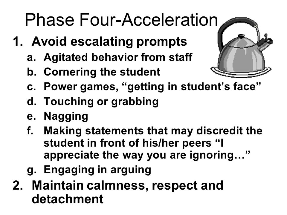 Phase Four-Acceleration