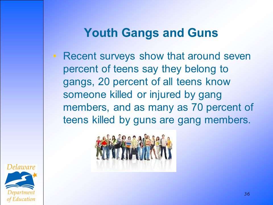 Youth Gangs and Guns