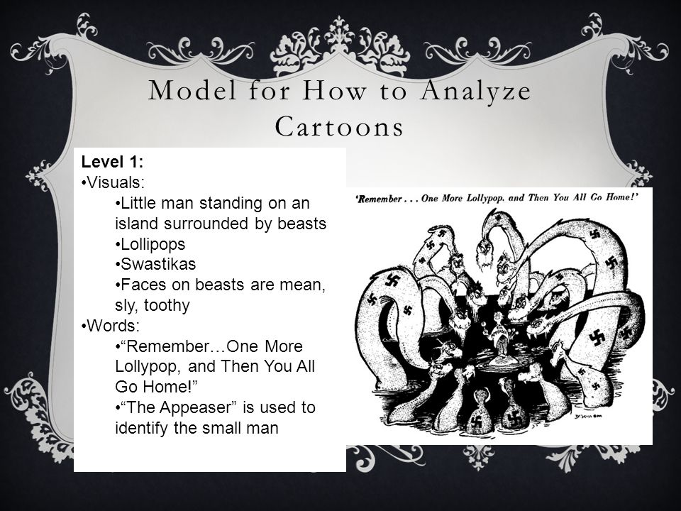 Model for How to Analyze Cartoons