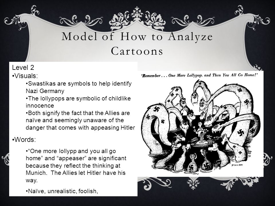 Model of How to Analyze Cartoons