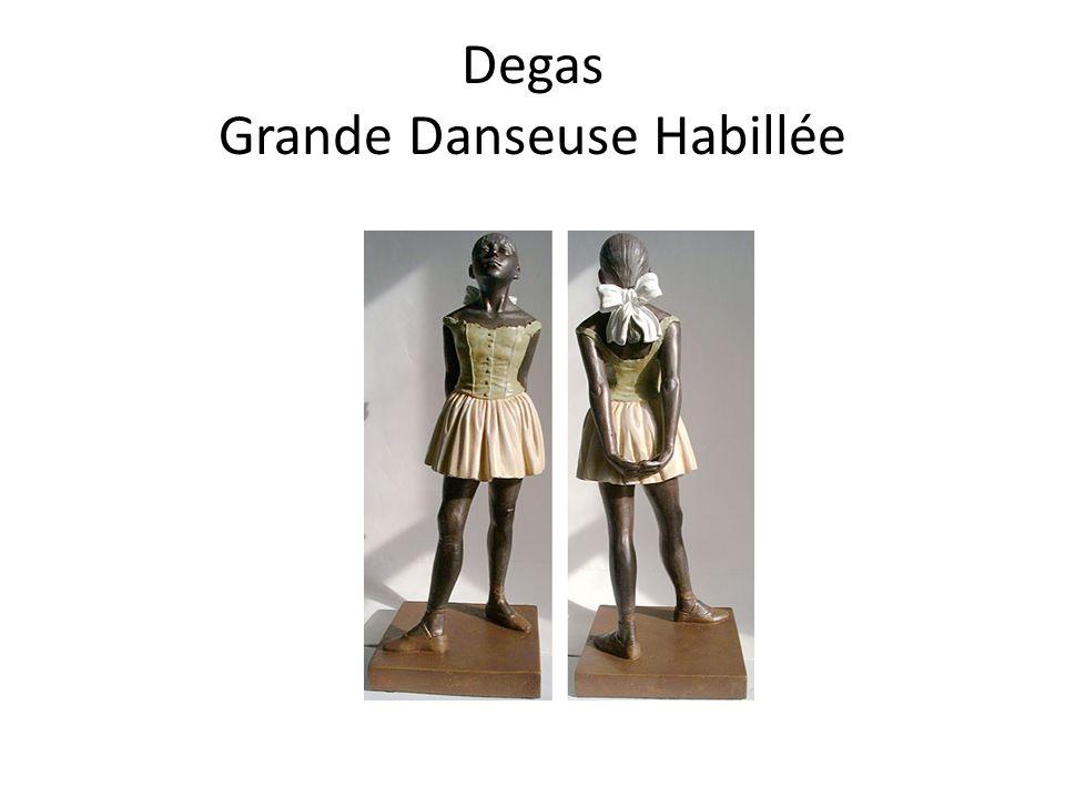 Degas Grande Danseuse Habillée