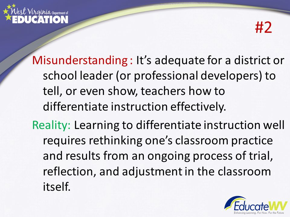 challenges of differentiated instruction