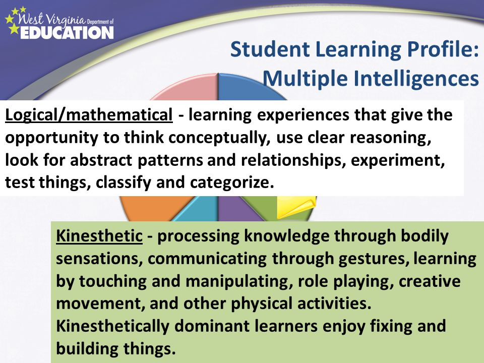 Student Learning Profile: Multiple Intelligences