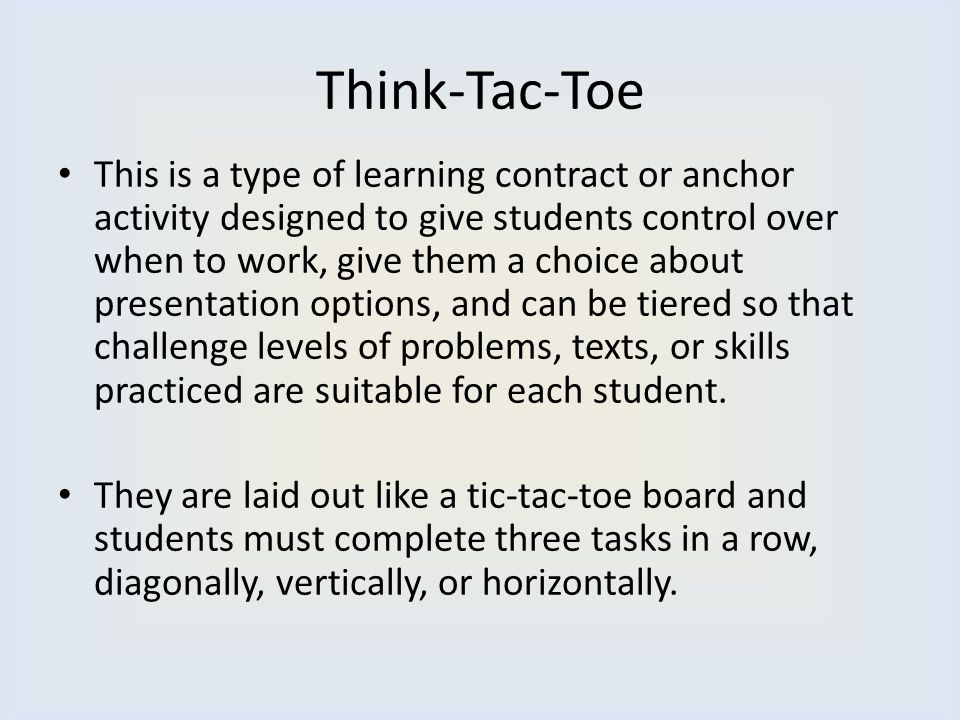 Think-Tac-Toe