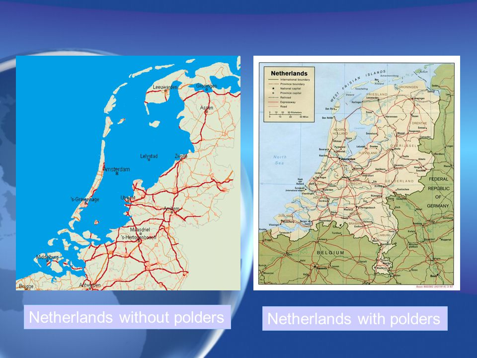 Netherlands without polders