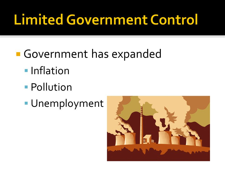 Limited Government Control