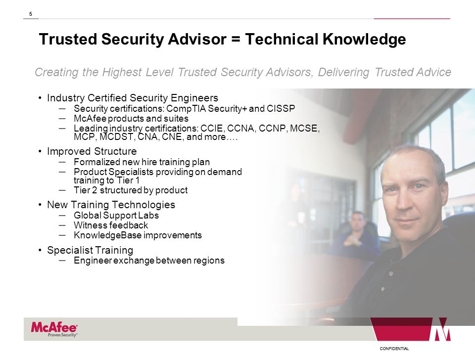Trusted Security Advisor = Technical Knowledge