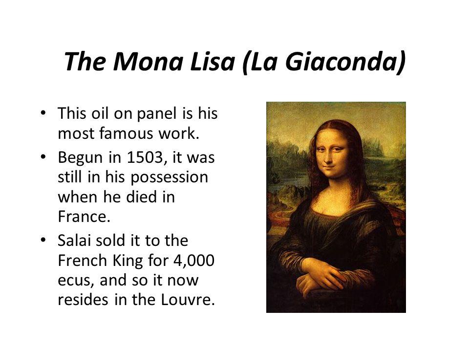 The Mona Lisa (La Giaconda)