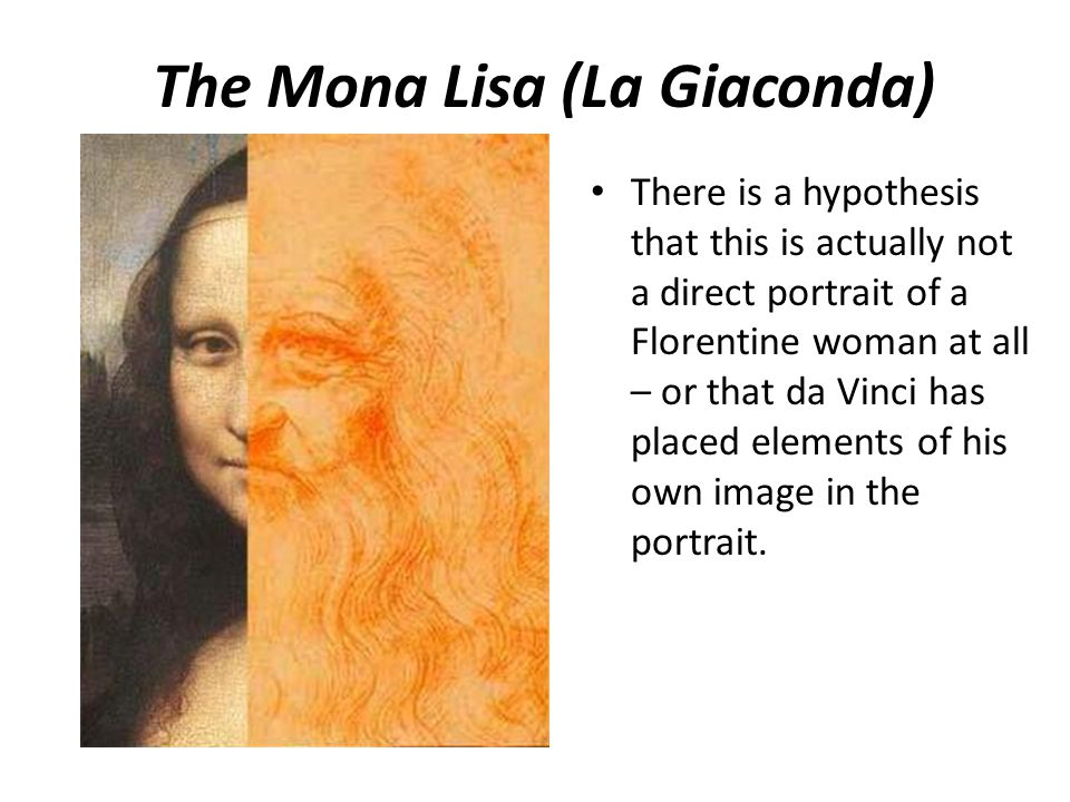 The Mona Lisa (La Giaconda)