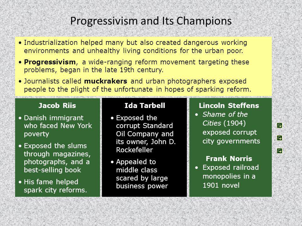 Progressivism and Its Champions