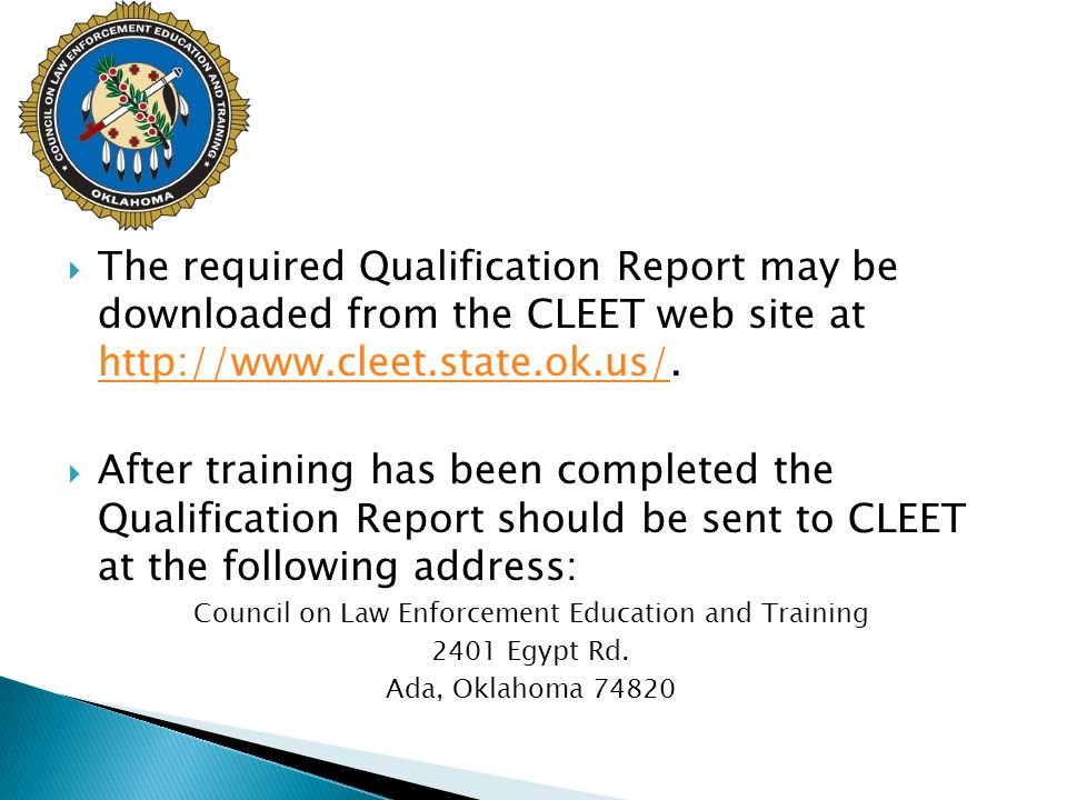 Council on Law Enforcement Education and Training