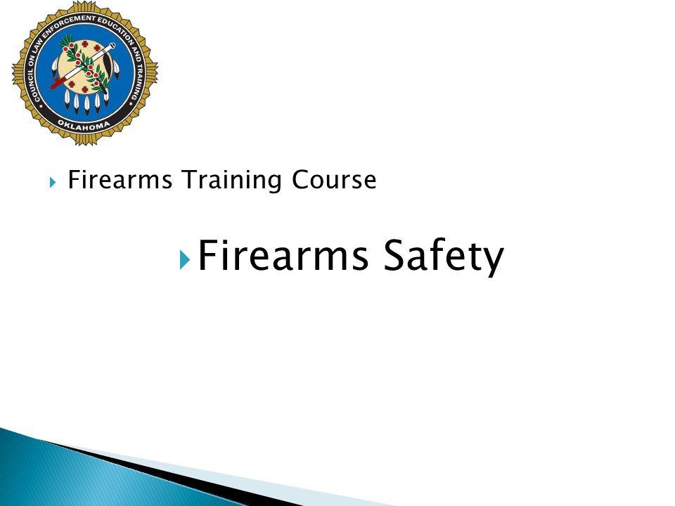 Firearms Training Course