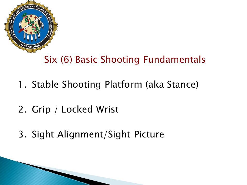 Six (6) Basic Shooting Fundamentals