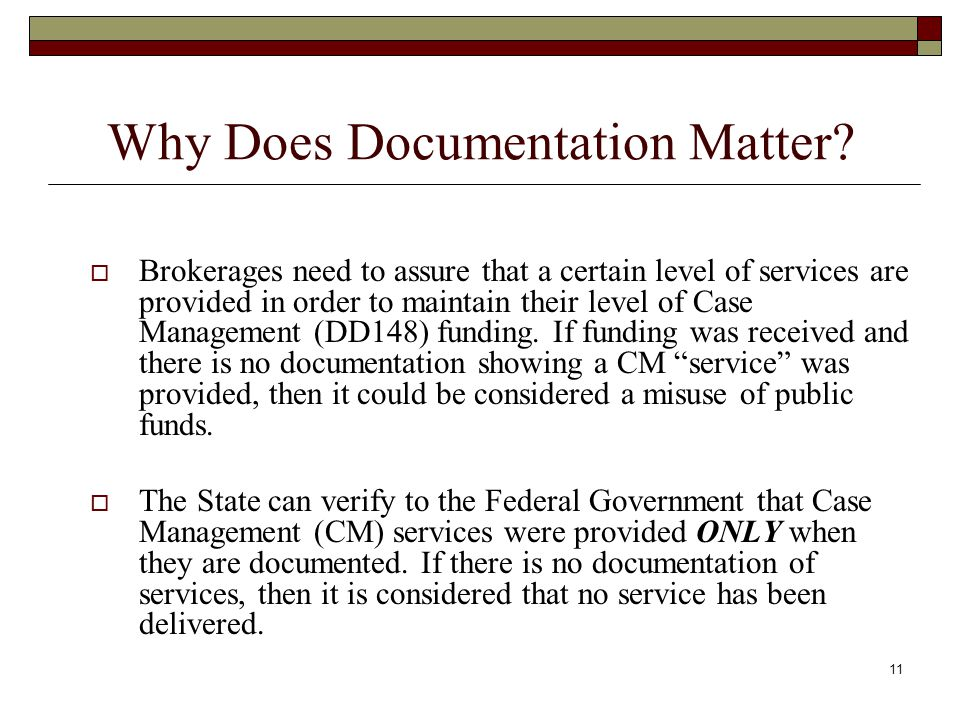 Why Does Documentation Matter