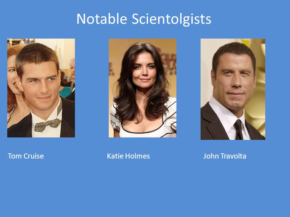 Notable Scientolgists