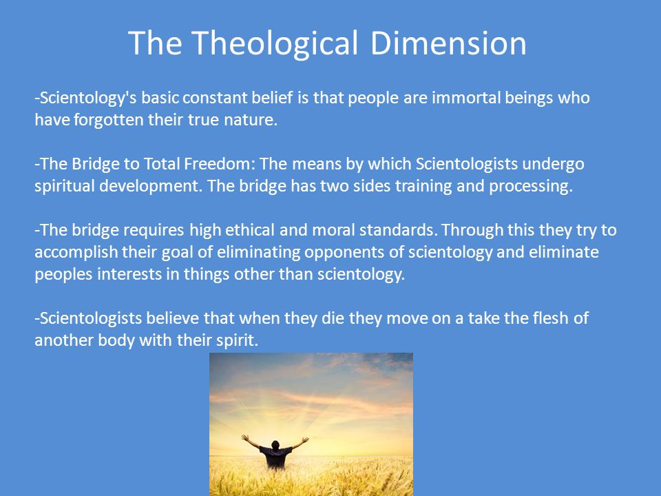 The Theological Dimension