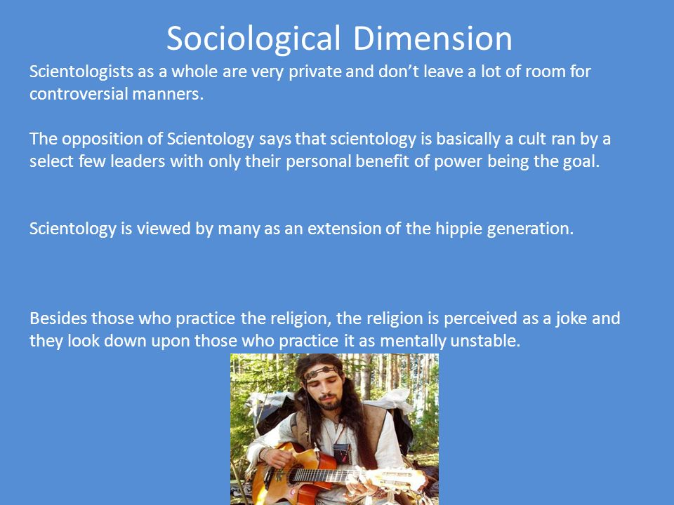 Sociological Dimension