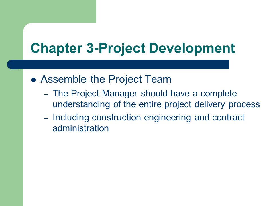 Chapter 3-Project Development