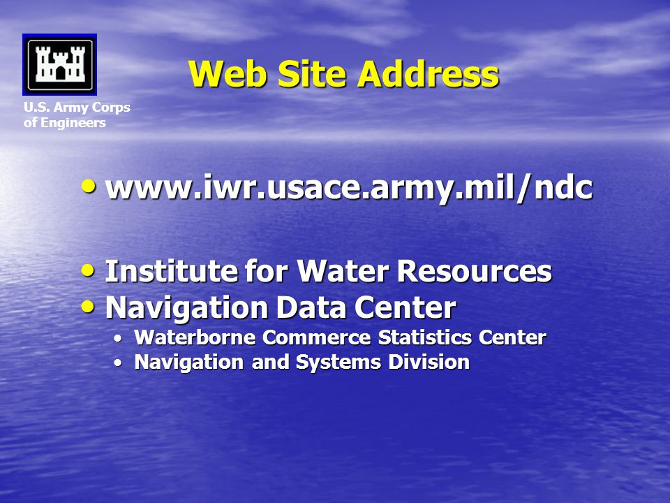 Web Site Address