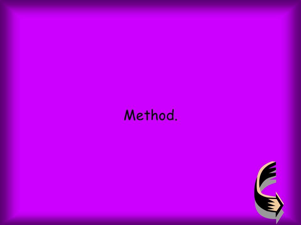 Method.