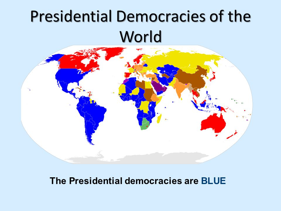 Presidential Democracies of the World