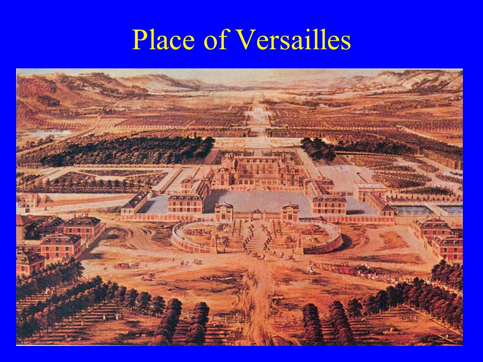 Place of Versailles