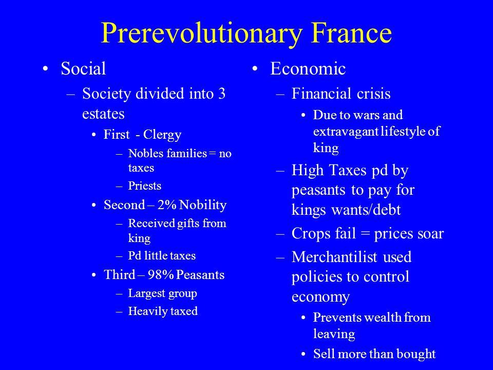 Prerevolutionary France