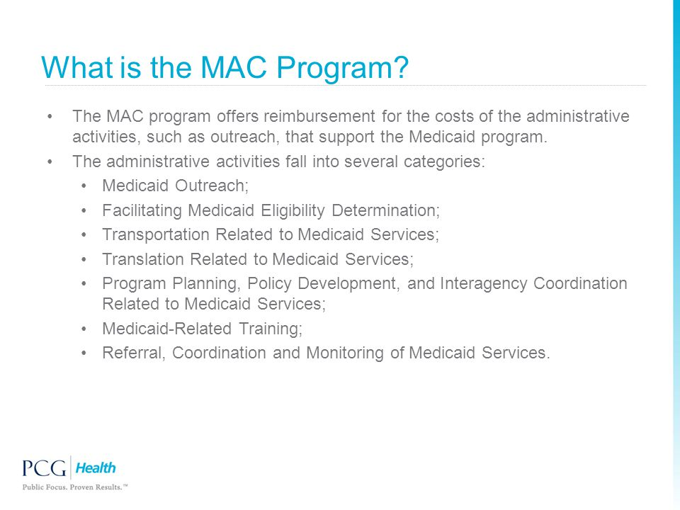 What is the MAC Program