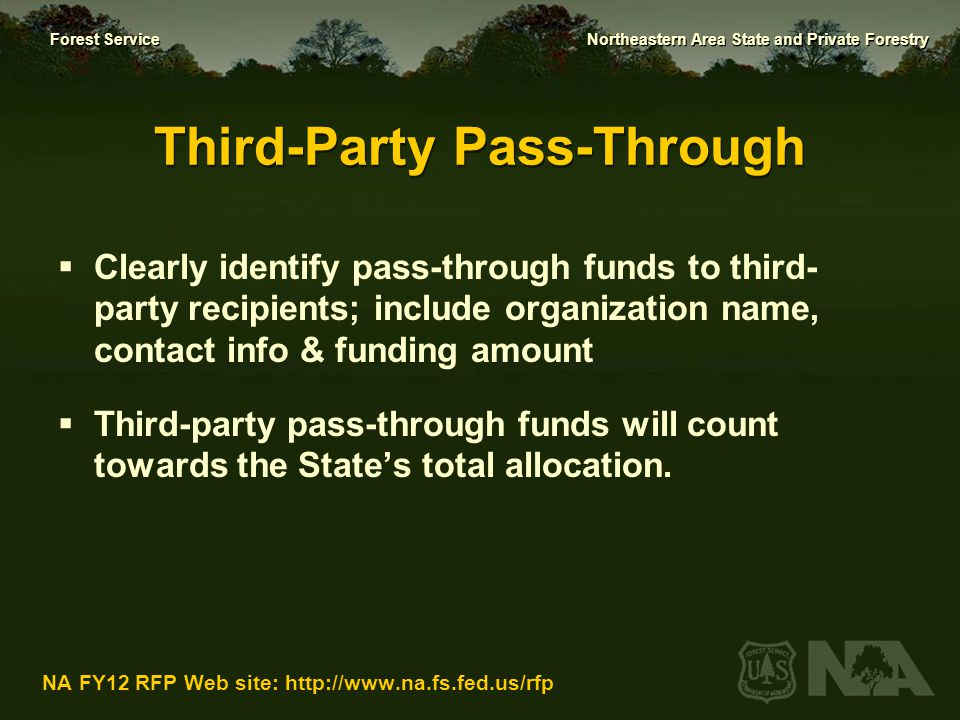Third-Party Pass-Through