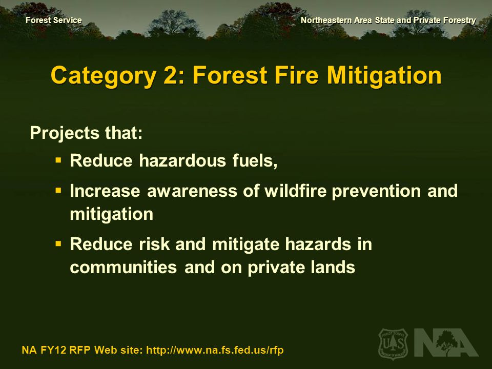 Category 2: Forest Fire Mitigation