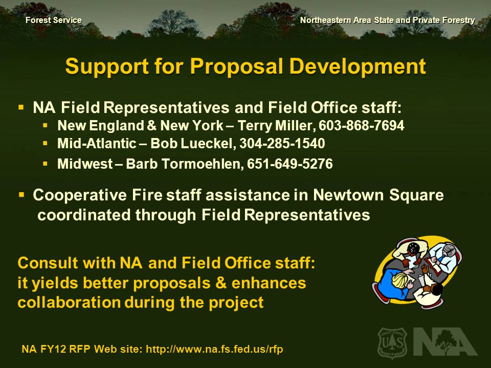 Support for Proposal Development